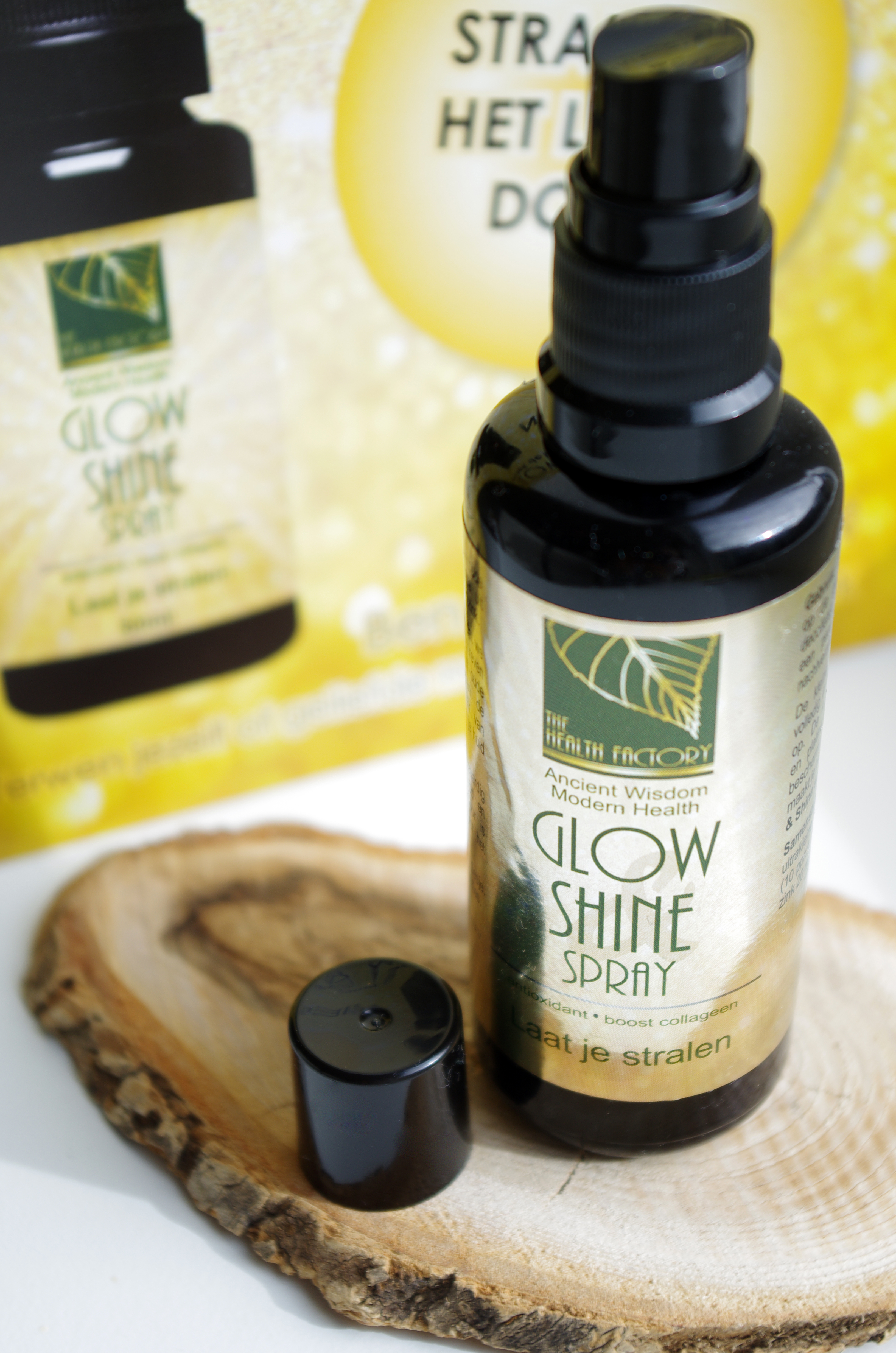 glow & shine spray